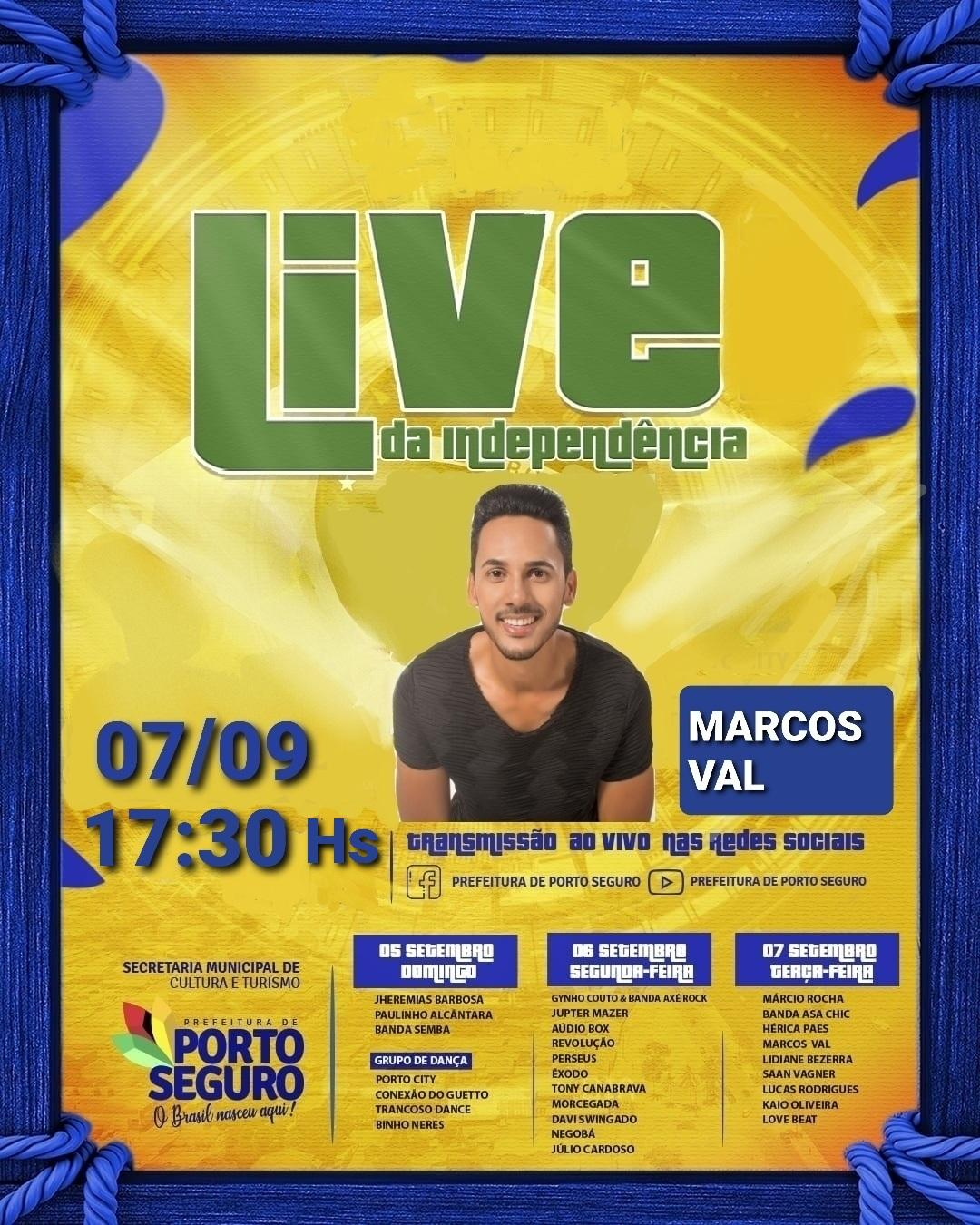 live marcos val